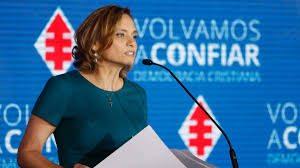 GOIC ES CANDIDATA PRESIDENCIAL DE LA DEMOCRACIA CRISTIANA
