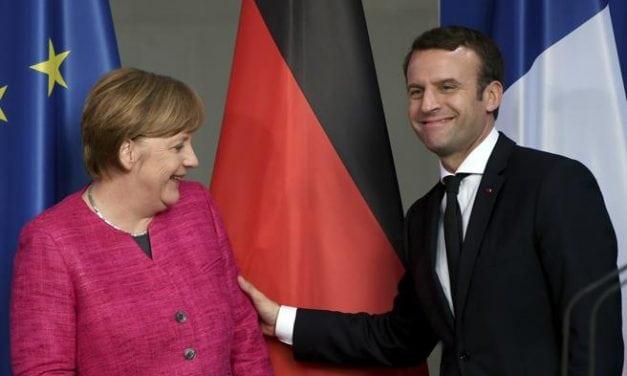 MACRÓN Y MERKEL TIENEN UNA SOLA MISIÓN: SALVAR A EUROPA