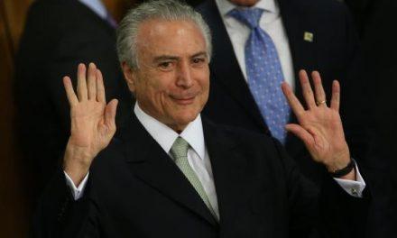BRASIL: PRESIDENTE TEMER TIENE LOS DÍAS CONTADOS POR CURRUPCIÓN