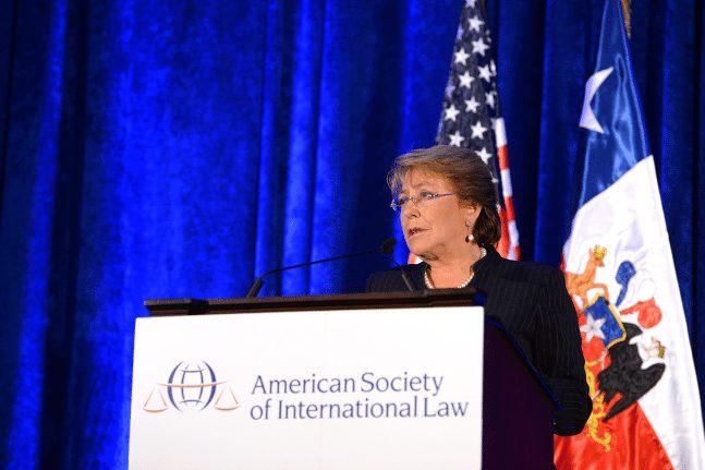 EE UU Y EL RETIRO DEL ACUERDO CLIMÁTICO – BACHELET: Requerimos multilateralidad activa