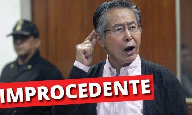 FUJIMORI: PODER JUDICIAL DECLARA  IMPROCEDENTE HÁBEAS CORPUS DE  LA IMPUNIDAD