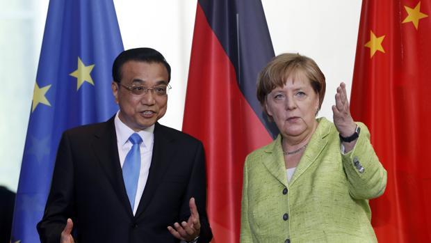 ALEMANIA Y CHINA ACUERDAN TRABAJAR JUNTOS POR EL CAMBIO CLIMÁTICO