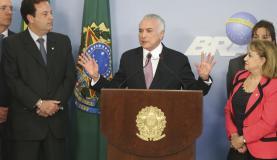 ES PARA «TEMER» LA ACUSACIÓN DE CORRUPCIÓN CONTRA TEMER EN BRASIL