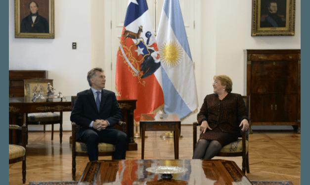 MACRI HABLÓ EN CHILE DE UN NUEVO COMIENZO CON ARGENTINA