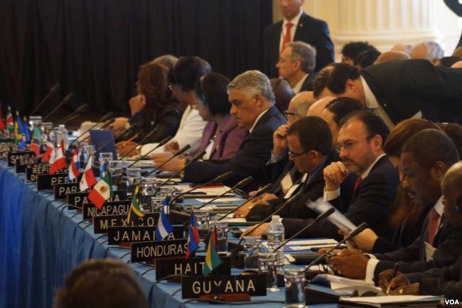 LA OEA NO FUE CAPAZ DE CONDENAR AL RÉGIMEN DE MADURO