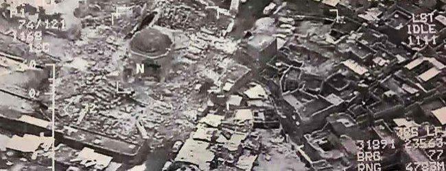 ISIS BOMBARDEA MEZQUITA Y MINARETE DEL AÑO 1172