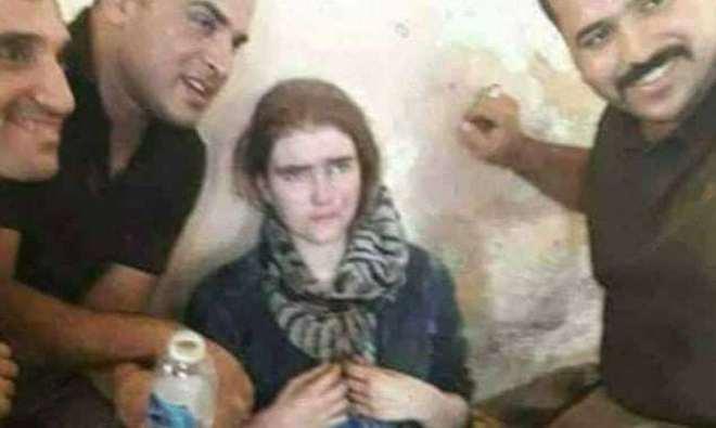 JOVEN ALEMANA INTEGRADA AL ISIS FUE DETENIDA EN IRAK LLORANDO PORQUE QUIERE VOLVER A SU CASA EN SAJONIA