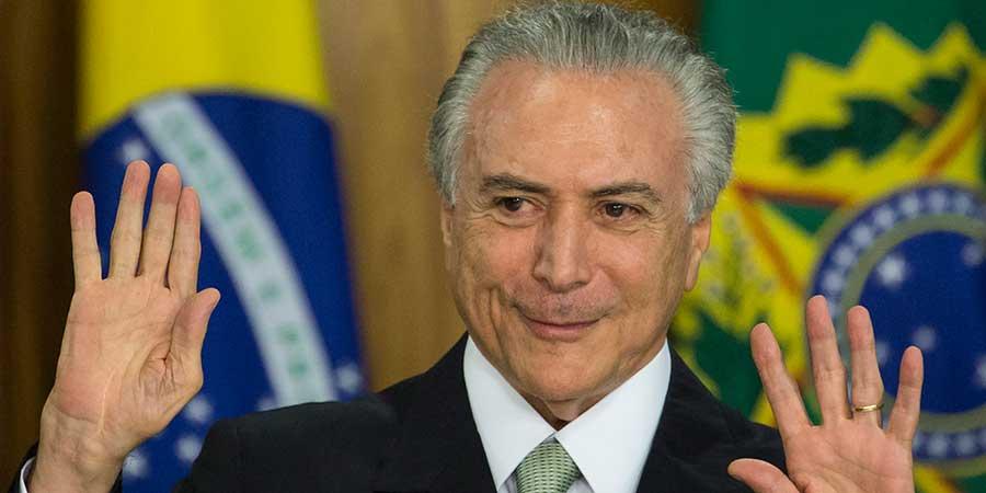 BRASIL: TEMER SE SALVÓ NUEVAMENTE DE SER PROCESADO POR CORRUPCIÓN