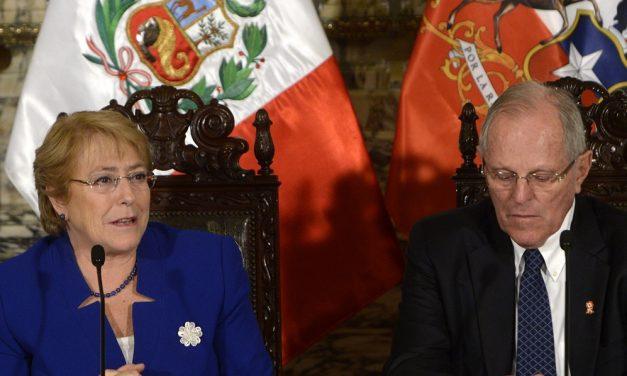 CHILE Y PERÚ ESTRECHAN AL MAXIMO SUS RELACIONES COMO VERDADEROS PAÍSES DEMOCRÁTICOS