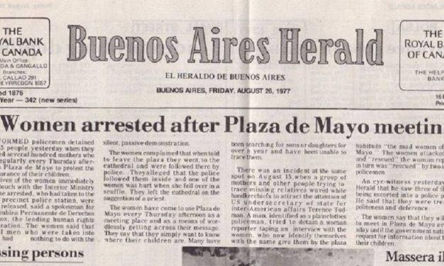 MURIÓ UNA PARTE IMPORTANTE DEL PERIODISMO LATINOAMERICANO: EL BUENOS AIRES HERALD