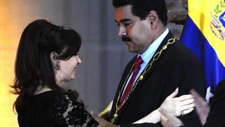 MAURICIO MACRI ANULA CONDECORACIÓN CONCEDIDA POR CRISTINA KIRCHNER A MADURO – EN VENEZUELA: PIDEN ANULAR LA INSTALACIÓN DE LA ANC