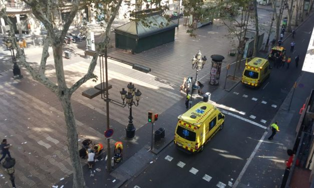NUEVO ATENTADO en Barcelona: Es el sexto atropello masivo en Europa