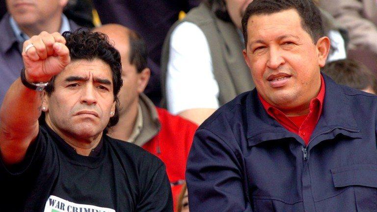 MARADONA SE DECLARÓ SOLDADO DE LA REVOLUCIÓN BOLIVARIANA