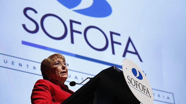 Ahora , casi al terminar su Gobierno, Bachelet le habla fuerte a los empresarios