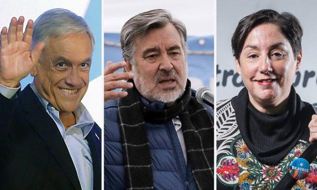 ELECCIONES: LAS PERSPECTIVAS TRIUNFALISTAS DE PIÑERA SEGUIDO DE GUILLIER Y SANCHEZ
