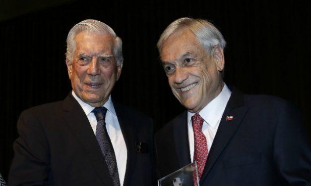 Mario Vargas Llosa y la derecha cavernaria chilena —-  Por Rafael Luis Gumucio Rivas