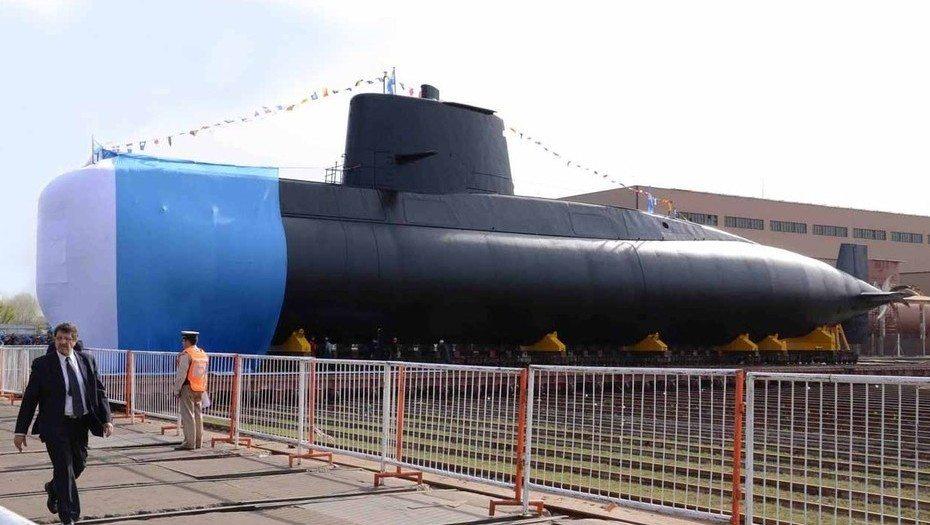 Desaparecido submarino argentino en el Atlántico sur con 44 tripulantes