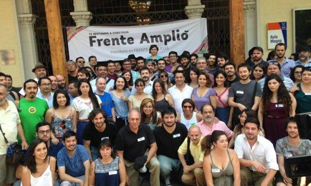 FRENTE AMPLIO DESEA FORTALECERSE Y MANTENDRÁ AUTONOMÍA DE otras coaliciones