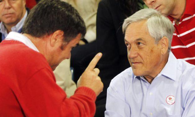 """Ossandón ante la prensa por su apoyo a Piñera: ¿Ustedes creen que ahora lo elegí por lindo? No, lo elegí por Chile""""."""