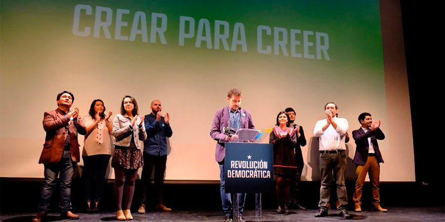 Revolución Democrática: Queremos que Guillier le gane a la derecha