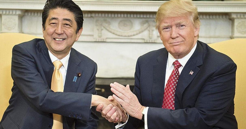 Donald Trump en Gira por Asia