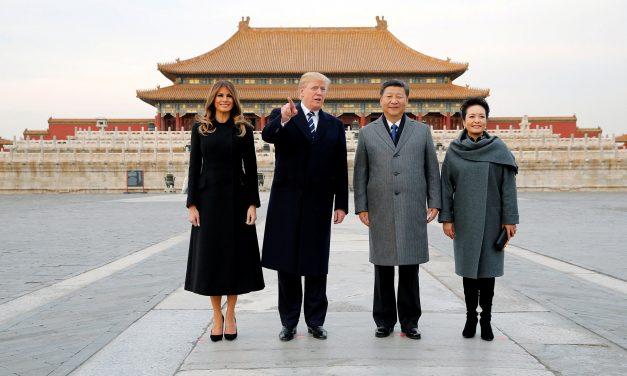 TRUMP LLEGÓ A CHINA LA ETAPA MÁS DIFÍCIL EN SU VIAJE POR ASIA
