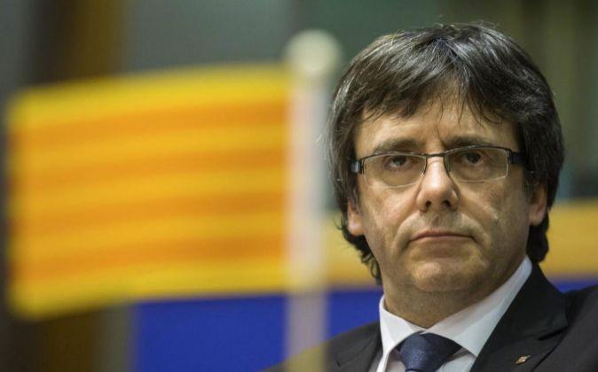 Puigdemont denuncia «encarcelamiento masivo y criminalización» de políticos independentistas En ESpaña
