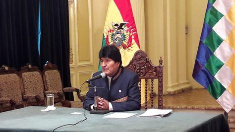 Parece que los bolivianos ya no quieren a Evo en el poder