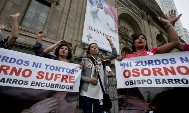 La iglesia católica frente a frente a los dueños de Chile
