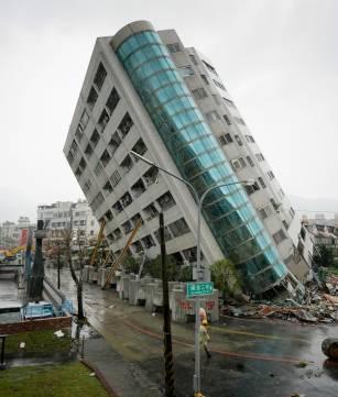 DESASTRE TELÚRICO EN TAWÁN