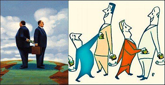 El mejor negocio es ser corrupto de cuello blanco