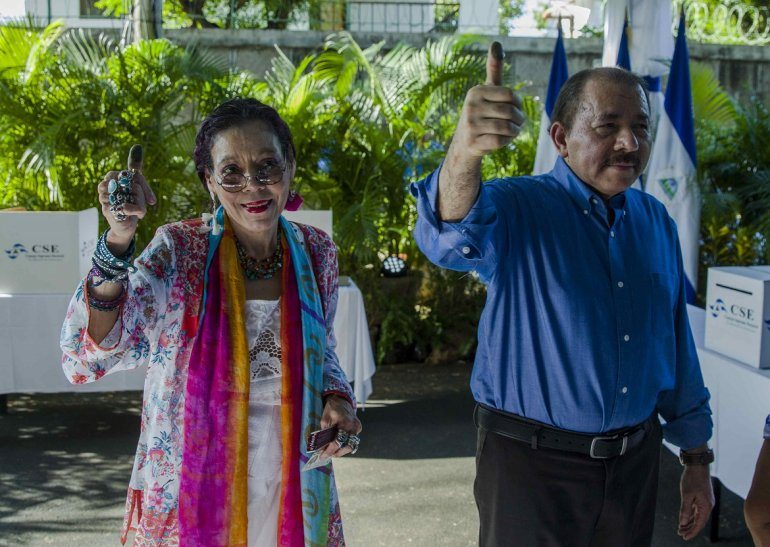 El Gobierno de Daniel Ortega origina baño de sangre en protestas en calles de Managua
