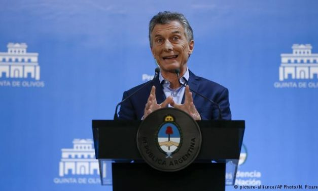 """Argentina: Macri da por """"superadas"""" las turbulencias financieras"""