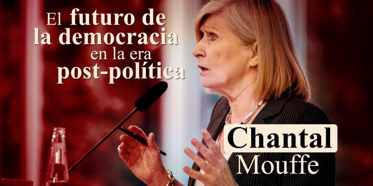"""Chantal Mouffe y su política de """"democracia agonista"""""""