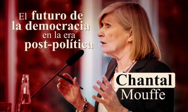 Chantal Mouffe y su política de «democracia agonista»