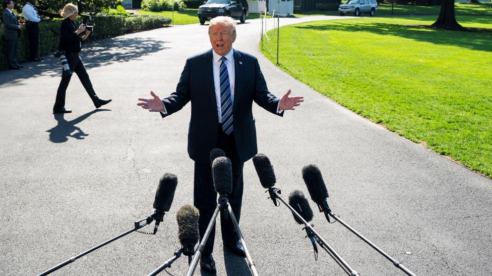 El cambiante e inseguro Donald Trump: ¿Me junto o no me junto con Kim en Singapur?, parece decir ahora el presidente