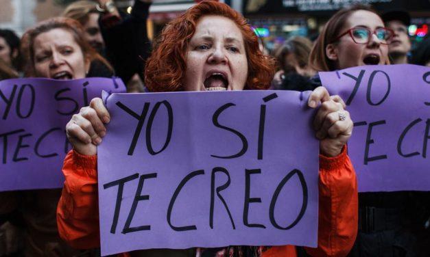 """EL CASO """"LA MANADA"""" DE ESPAÑA se convierte en un ícono MUNDIAL CONTRA la violación sexual"""