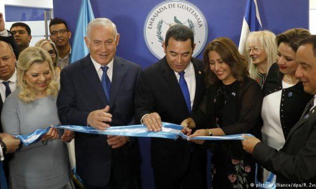 Guatemala sigue los pasos de Trump y cambia también su embajada israelí a Jerusalén