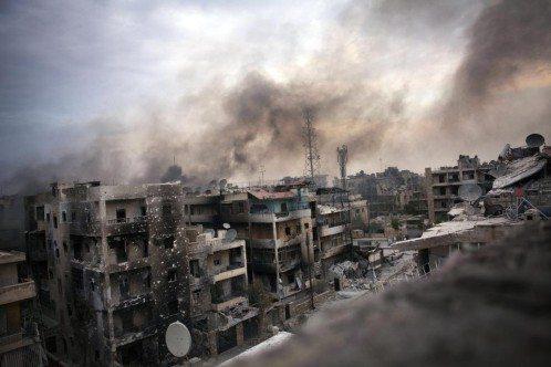 La Interminable Guerra en Siria sigue escalando y poniendo en peligro la paz mundial