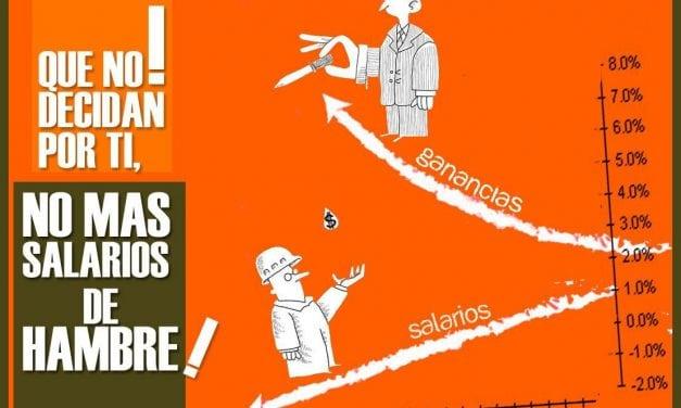 La guerra sueldos fiscales no para, mientras millones de jubilados y trabajadores tienen ingresos de hambre