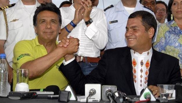 """Ya nada queda del """"socialismo del Siglo XXI"""" en Ecuador: Lenin Moreno es un presidente mediocre y Rafael Correa es buscado por la Interpol"""