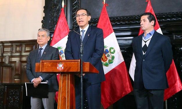 Vizcarra: Juntos sacaremos adelante las Reformas Política y Judicial