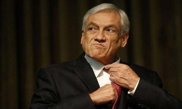 Presidente Piñera baja 6 puntos en las encuestas desde el 15 de junio