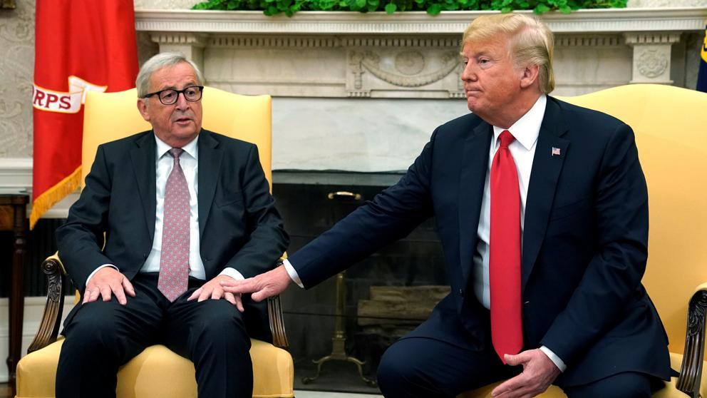 EUROPA Y EE UU VUELVEN A LA MESA DE NEGOCIACIONES EN MEDIO DE UNA GUERRA COMERCIAL
