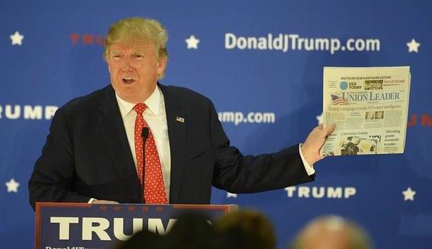 Condenan ataques de Trump contra los medios de comunicación