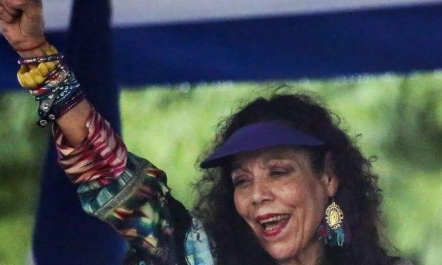 La esposa de Daniel Ortega