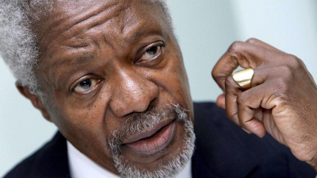 Kofi Annan, el último Secretario General que pagó caro por su independencia