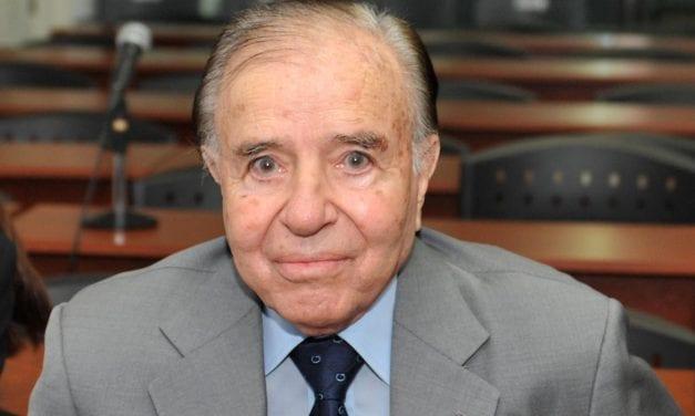 ARGENTINA: CARLOS MENEM CONDENADO A CUATRO AÑOS Y MEDIO DE CARCEL