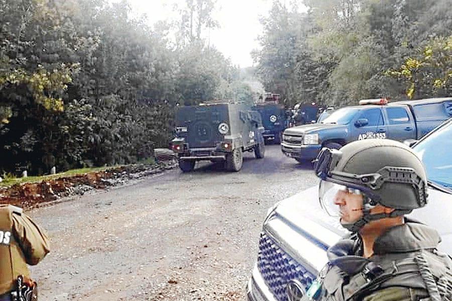"""Araucanía: Otra vez en """"estado de guerra"""" tras intervención de Carabineros que dejó un comunero muerto"""