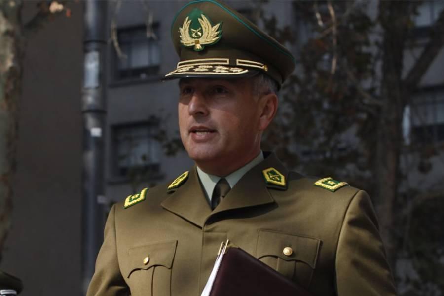 Mario Rozas es el nuevo director general de Carabineros como se adelantó este jueves en la noche